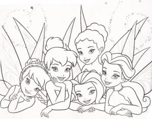 Imágenes para Colorear de Disney Hadas 16