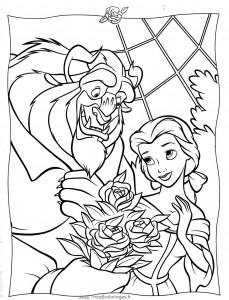 Imágenes para Colorear de las Princesas Disney 10