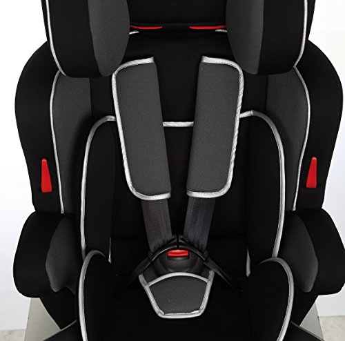 Play safe ten silla de coche grupo 1 2 3 color negro y for Silla coche bebe grupo 0 1 2 3