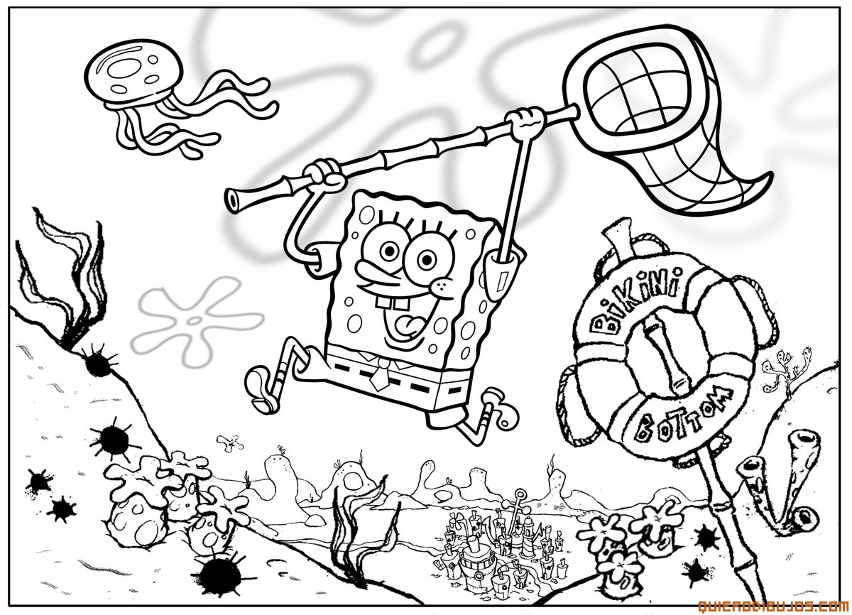 dibujo-bob-esponja – Club Peque Club Peque