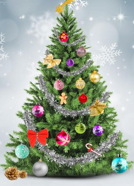 Decora tu propio rbol de navidad club peque club peque - Decora tu arbol de navidad ...