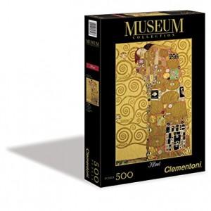 Caja Clementoni - Madre e hija de Gustav Klimt, rompecabezas de 1000 piezas.