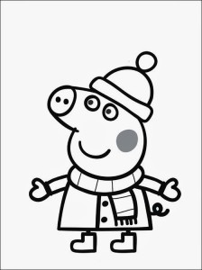 Dibujos Peppa 1