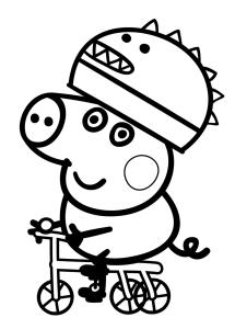 Peppa pig  imprimir y descargar