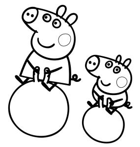 peppa-pig-e-george-fanno-i-giocolieri-sulla-palla