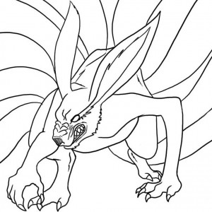 coloriage-naruto-demon-renard-a-9-queues